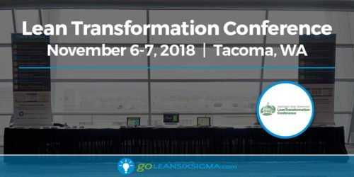 Event: Join Us at the 2018 Washington State Government Lean Transformation Conference - GoLeanSixSigma.com