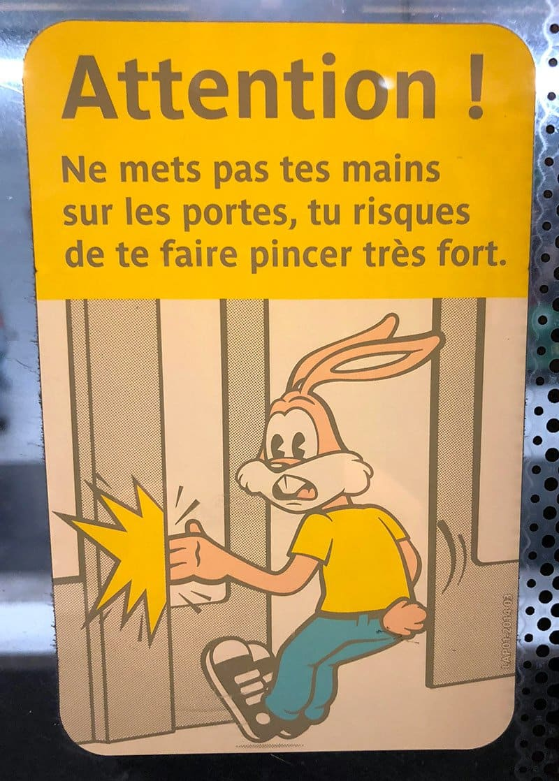 Lean Six Sigma Is Everywhere: France Door Sign - GoLeanSixSigma.com