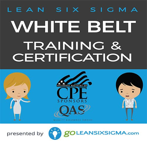 For CPAs: CPE – Lean Six Sigma White Belt Training & Certification