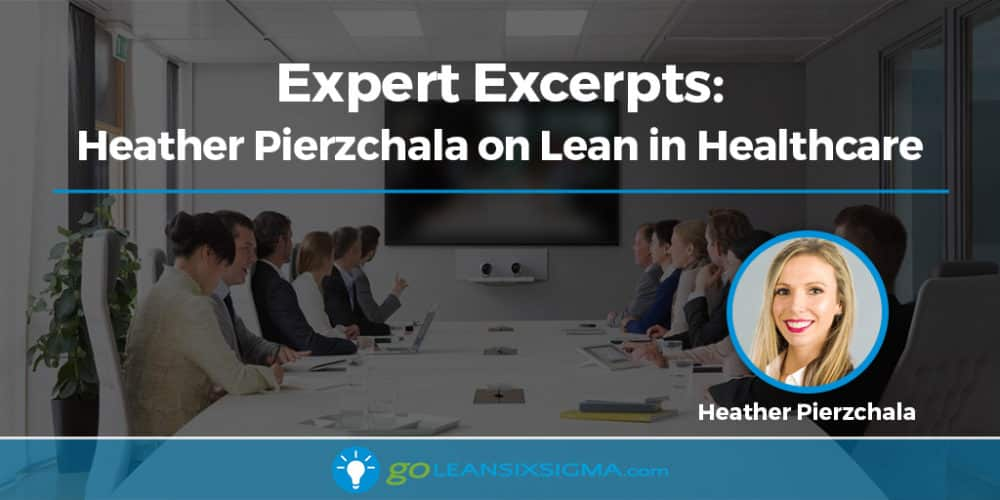 Expert Excerpts: Heather Pierzchala On Lean In Healthcare - GoLeanSixSigma.com
