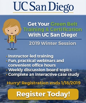 UC San Diego 2019 Winter Session - GoLeanSixSigma.com