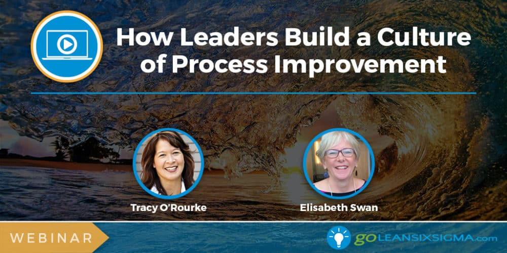 Webinar: How Leaders Support And Build A Culture Of Process Improvement - GoLeanSixSigma.com