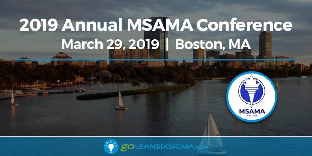 Event: 2019 Annual MSAMA Conference - GoLeanSixSigma.com