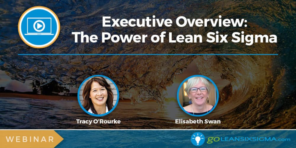 Webinar: Executive Overview: The Power Of Lean Six Sigma - GoLeanSixSigma.com