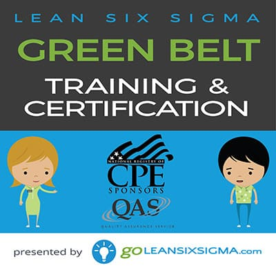 For CPAs: CPE – Lean Six Sigma Green Belt Training & Certification