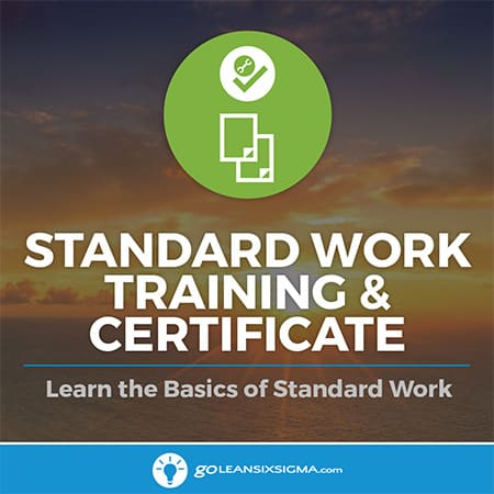 Standard Work Training & Certificate