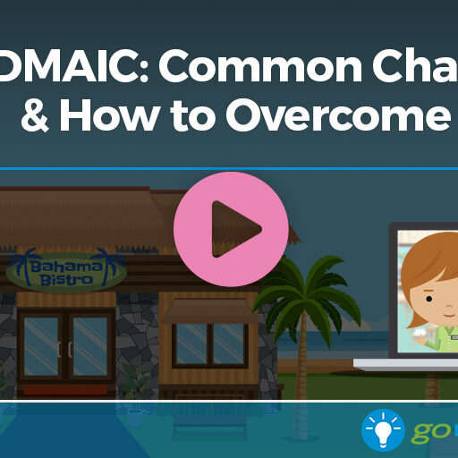 Webinar: DMAIC: Common Challenges & How to Overcome Them - GoLeanSixSigma.com