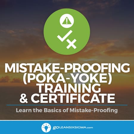 Mistake-Proofing (Poka-yoke) Training & Certificate