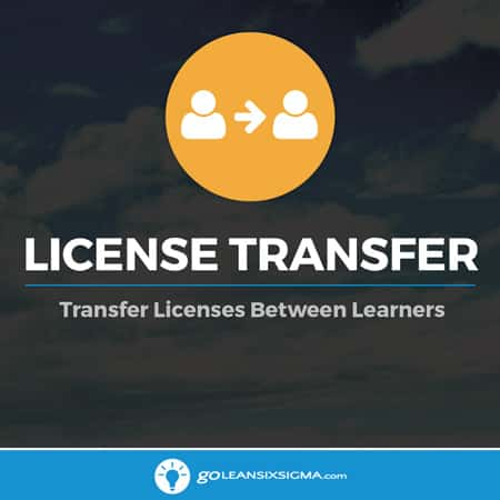 License Transfer - GoLeanSixSigma.com