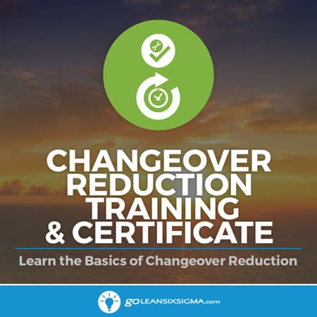 Changeover Reduction Training & Certificate