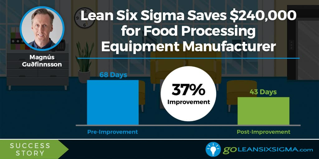 Lean Six Sigma Success Story: Lean Six Sigma Saves $240,000 In Annual Warranty Claims For Food Processing Equipment Manufacturer - GoLeanSixSigma.com