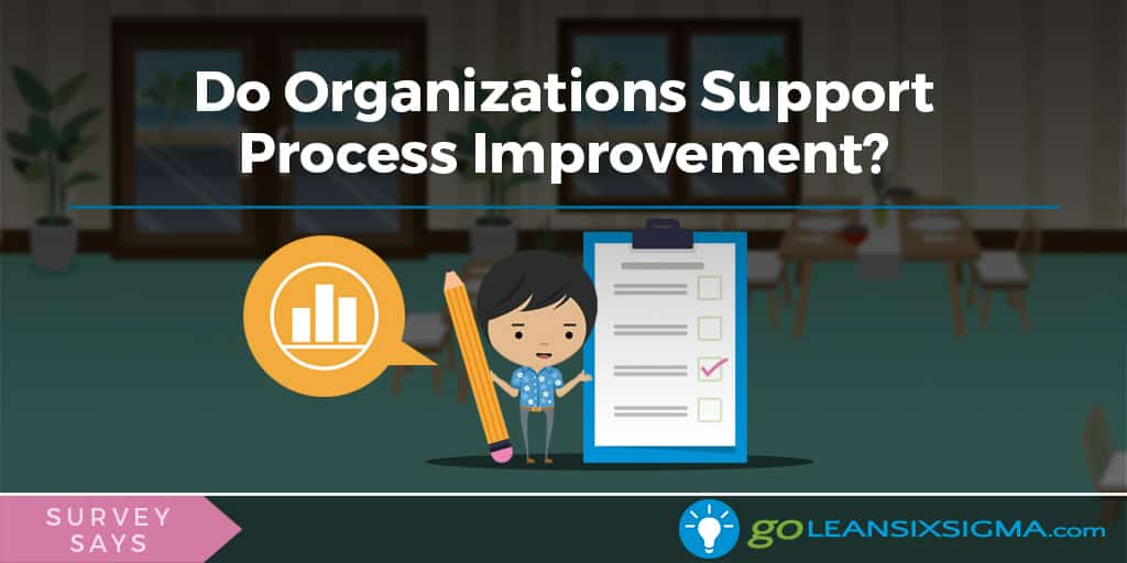 Survey Says: Do Organizations Support Process Improvement? - GoLeanSixSigma.com