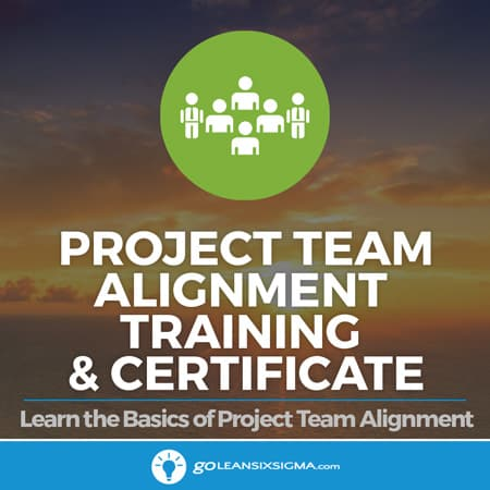 Project Team Alignment Training & Certificate - GoLeanSixSigma.com