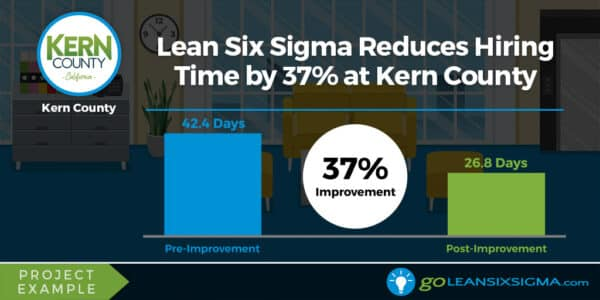 Project Example: Lean Six Sigma Reduces Hiring Time By 37% At Kern County - GoLeanSixSigma.com