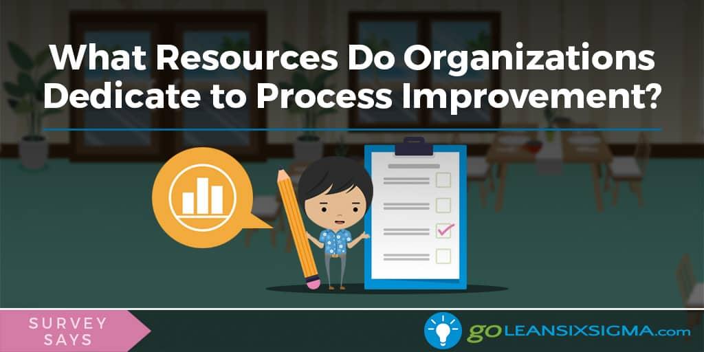 Survey Says: What Resources Do Organizations Dedicate To Process Improvement? - GoLeanSixSigma.com