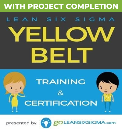 Yellow Belt Training & Certification With Project Completion